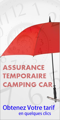 Assurance  temporaire camping-car